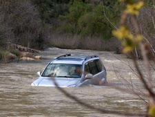 שיטפון בנחל שורק [צילום ארכיון: יוסי זמיר/פלאש 90]