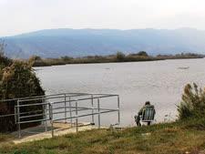 מבט על אגם עופות המים [צילום: יגאל יששכרוב]