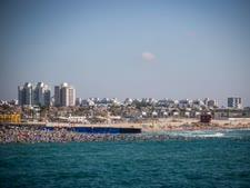 חוף הים באשדוד [צילום: פלאש 90]