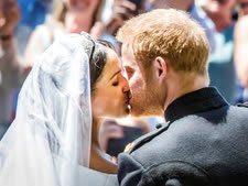 הנסיך הארי והדוכסית מייגן מרקל  [צילום: דני לוסון]