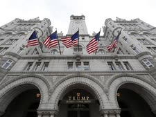 מלון טראמפ בוושינגטון [צילום: אלכס ברנדון, AP]