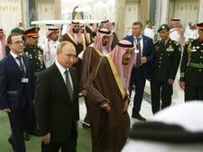 עבדאללה ופוטין בתחילת השבוע [צילום: AP]