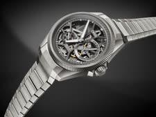 """שעון בעיצוב שלד [צילום: יח""""צ]"""