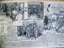 מראות בכלא באמסטרדם [ציור: סאל ברמסון]