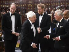 ויליאם (משמאל) והארי (שני מימין)[צילום: AP]