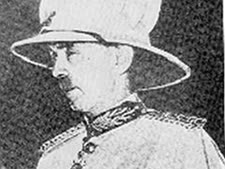 סר הנרי גרניי מזכיר ממשלת המנדט