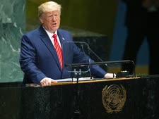 טראמפ. נגד הגלובליזציה [צילום: מרי אלטפר, AP]