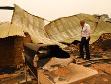 הרס מוחלט [צילום: AAP]
