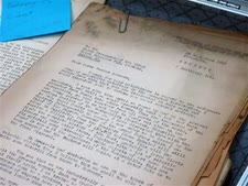 מסמכים ממשפטי נירנברג [צילום: רייצ'ל ד'אורו, AP]