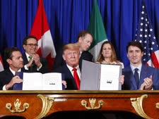 """חתימת הסכם נאפט""""א המחודש [צילום: פבלו מונסיביאס, AP]"""