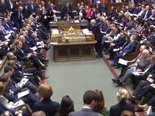 הפרלמנט הבריטי היום [צילום: AP]