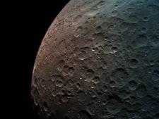 מראה פני הירח [צילום: באדיבות SpaceIL והתעשייה האווירית)]