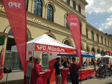 תעמולת בחירות השבוע במינכן