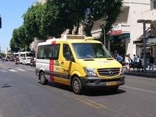 """מונית שירות בת""""א [צילום: אברהם שטרן]"""