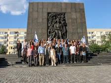 אנדרטת גטו ורשה [צילום: הרשות השופטת]