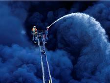 עשן כחול [צילום: Uwe Anspach/dpa via AP]