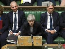 מיי אתמול בפרלמנט [צילום: AP]