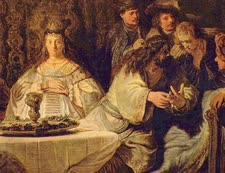 חתונתו של שמשון הגיבור [ציור: רמברנדט]