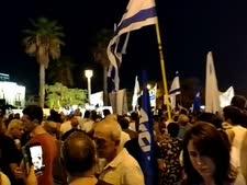 מאות מפגיני ימין מול מפגיני שמאל