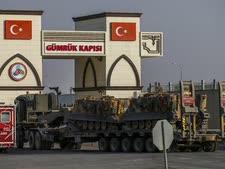 כוחות טורקים נכנסים לסוריה [צילום: אמרה גורל, AP]