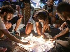 נרות לזכרו סלומון טקה נרות לזכרו סלומון טקה [צילום: תומר נויברג/פלאש 90]