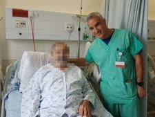"""מנהל טיפול נמרץ לב, ד""""ר אלעד אשר [צילום: שערי צדק]"""