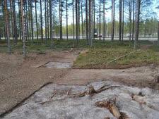האתר הארכיאולוגי בפינלנד [צילום: דון באטלר]