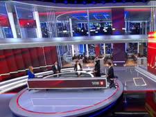 אולפן חדשות 13. קבוצת ווטסאפ פנימית [צילום: מן הטלוויזיה]