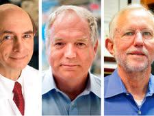 משמאל - הארווי אלטר, צ'ארלס רייס  ומייקל האוטון [צילום: ג'ון מינצ'ילו/AP]