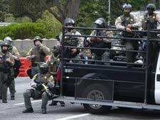 שוטרים בלוס אנג'לס [צילום: רינגו צ'יו, AP]