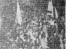 הפגנה נגד הסכם השילומים