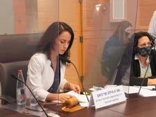 """ח""""כ וזאן בדיון בוועדה [צילום: דוברות הכנסת, שמוליק גרוסמן]"""