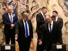 ראשי המפלגות [צילום: מארק ישראל סלם/פול]