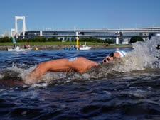 רודיטי במשחה המים הפתוחים [צילום: ג'אה סי הונג, AP]