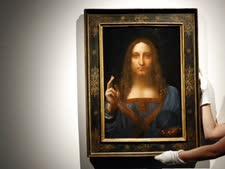 הציור לפני המכירה הפומבית [צילום: קירסטי וויגלסוורת', AP]