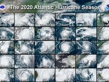 30 ההוריקנים של עונת 2020 [צילום: AP]