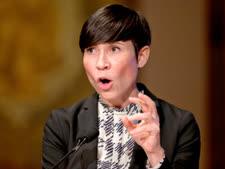 שרת החוץ הנורווגית [צילום: קרולין קסטר/AP]