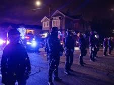 שוטרים בעיר אוקלנד השבוע [צילום: איתן סוופ, AP]