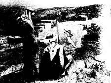 הנפת דגל ישראל מעל אום אל פאחם