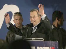 ברק בחגיגת הניצחון [צילום: AP]