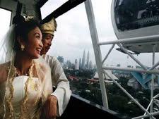 חתונה ב-London Eye [צילום ארכיון: AP]