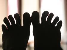 מה מסתתר מאחורי כפות הרגליים? [AP]