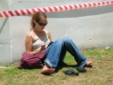 הסטודנטים ימשיכו לשבת על הדשא? [צילום: עומר שיקלר]