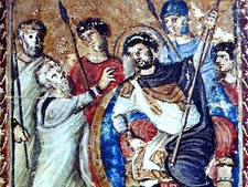 משה מתייצב בפני פרעה
