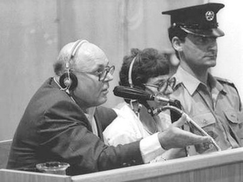 """אלי עזור ורדיו 103 נותנים במה לעו""""ד שיצג את איוון דמניוק שהואשם ברצח עם של 850000 יהודים בטרבלינקה והוציא אותו זכאי ועכשיו הוא ימני . לכאורה NEW-396206080913544"""