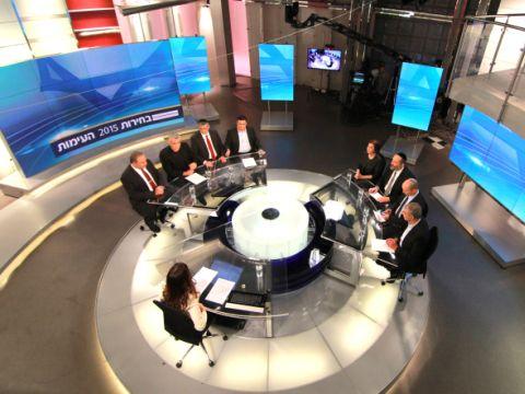 העימות בחדשות ערוץ 2 [צילום: פלאש 90]