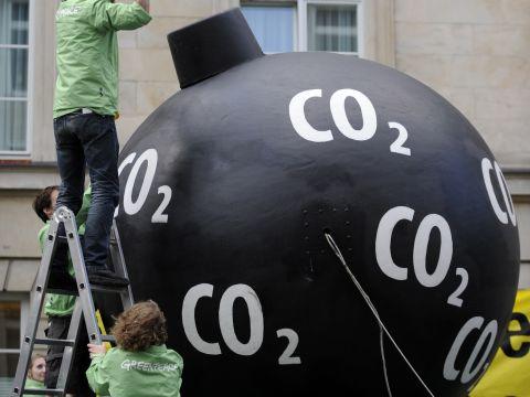 עלייה תלולה בריכוז ה-CO2 [צילום: AP]