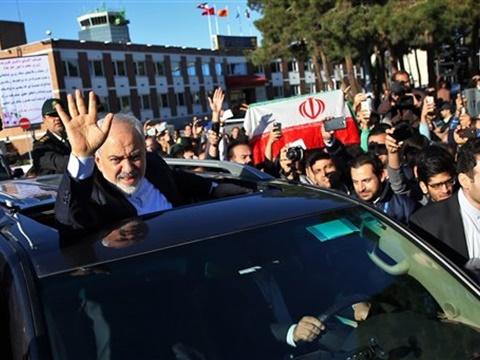 שר החוץ האירני זריף [צילום: AP]