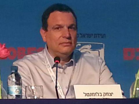 """יצחק בלומנטל, מנכ""""ל נמל אשדוד  [צילום: יח""""צ]"""