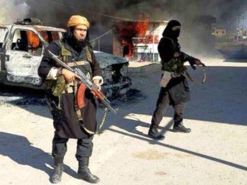 לוחמי דאעש [צילום: AP]